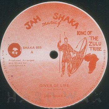Cover art - Jah Shaka: Giver Of Life