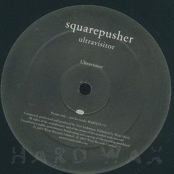 Cover art - Squarepusher: Ultravisitor EP