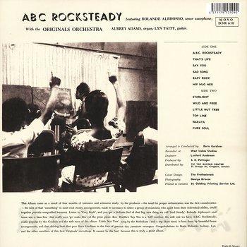 Cover art - Roland Alphonso: ABC Rocksteady