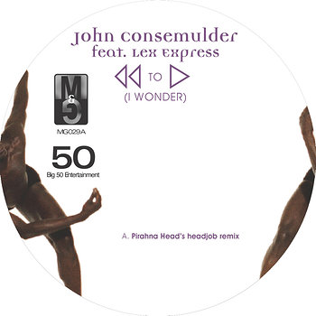 Cover art - John Consemulder: Rewind to Start