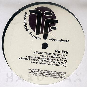 Cover art - Nu Era: Some Think Electronically EP