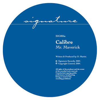 Cover art - Calibre: Mr. Maverick