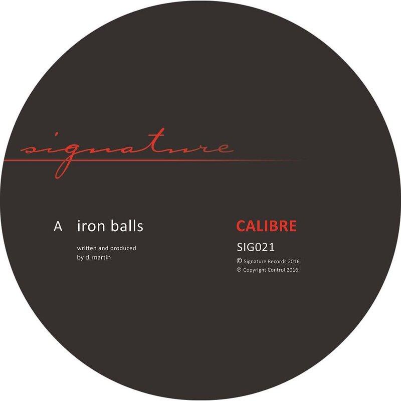 Cover art - Calibre: Iron Balls