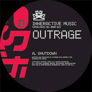 Cover art - Outrage: Shutdown / Bad Dreams