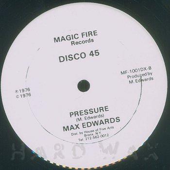 Cover art - Max Edwards: Pressure