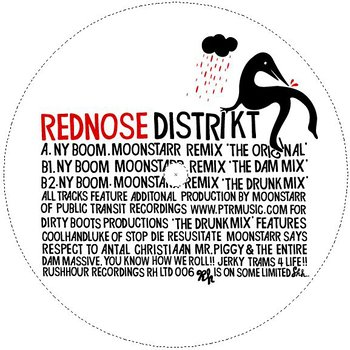 Cover art - Rednose District: NY Boom - Moonstar Rmxs