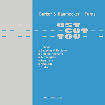Cover art - Barker & Baumecker: Turns