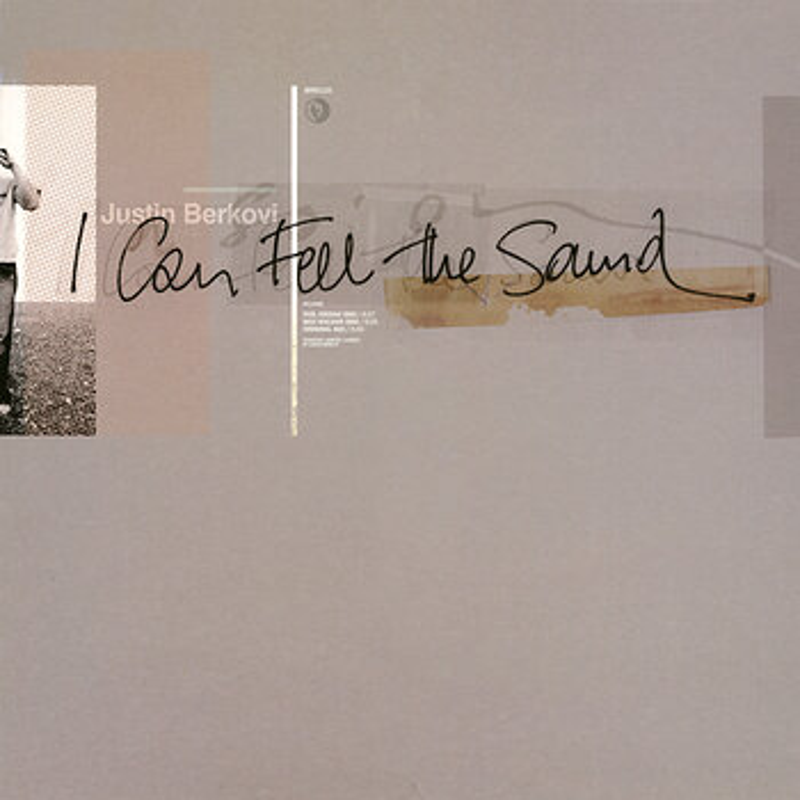 Cover art - Justin Berkovi: I Can Feel The Sound