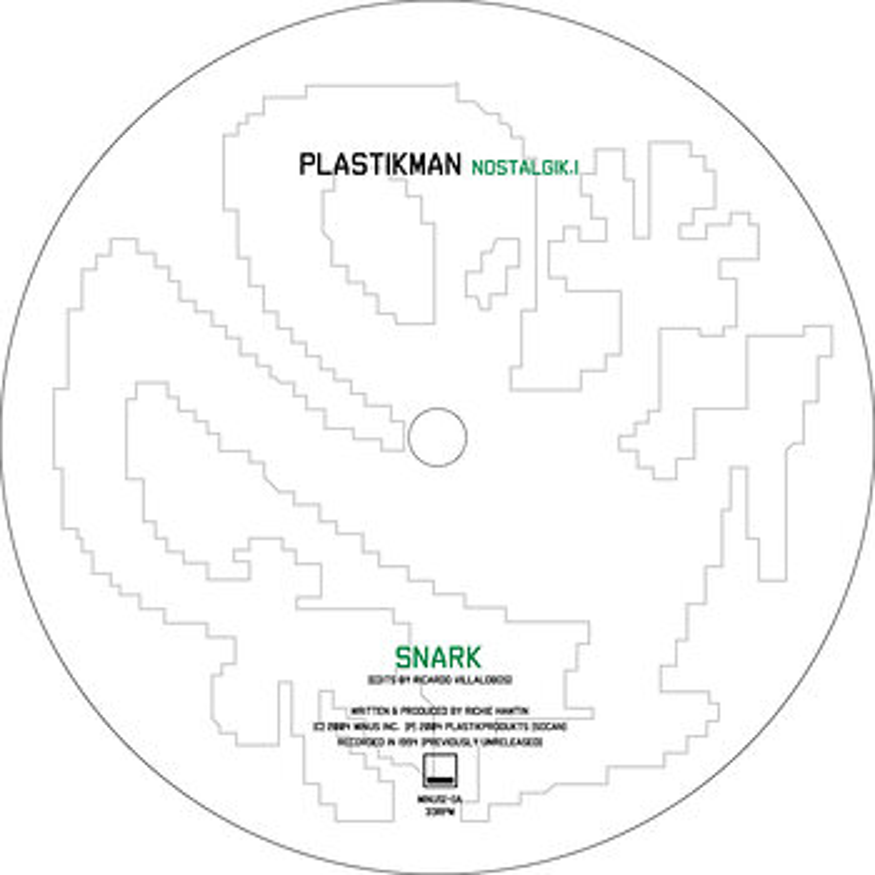 Cover art - Plastikman: Nostalgik.1