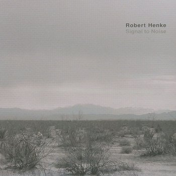 Cover art - Robert Henke: Signal to Noise