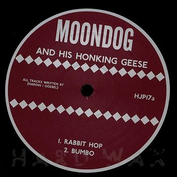 Cover art - Moondog: and his Honking Geese playing Moondog's Music