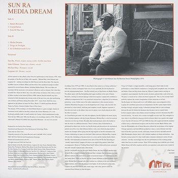 Cover art - Sun Ra: Media Dreams
