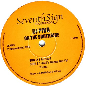 Cover art - DJ Pivo: On The Southside