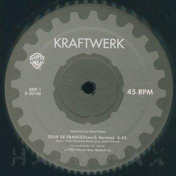 Cover art - Kraftwerk: Tour De France