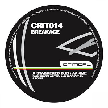 Cover art - Breakage: Staggered Dub