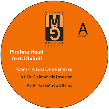 Cover art - Pirahna Head feat. Diviniti: Poem 4 A lost One Remixes