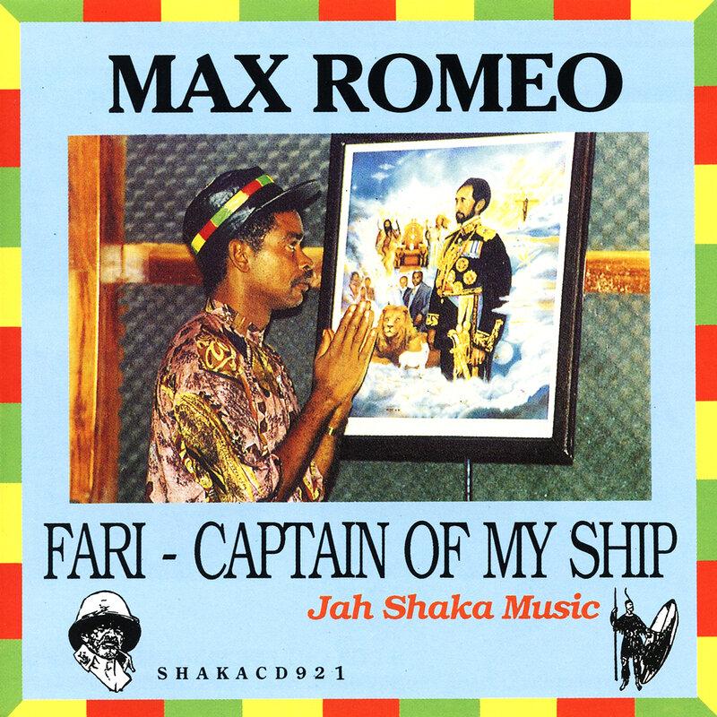 Cover art - Max Romeo: Fari - Captain Of My Ship