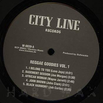 Cover art - Various Artists: Reggae Goodies Vol. 1