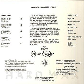 Cover art - Various Artists: Reggae Goodies Vol. 1 & 2