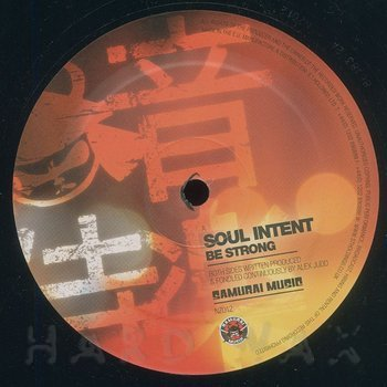 Cover art - Soul Intent: Be Strong