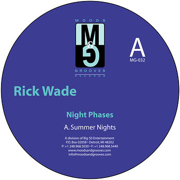 Cover art - Rick Wade: Night Phases