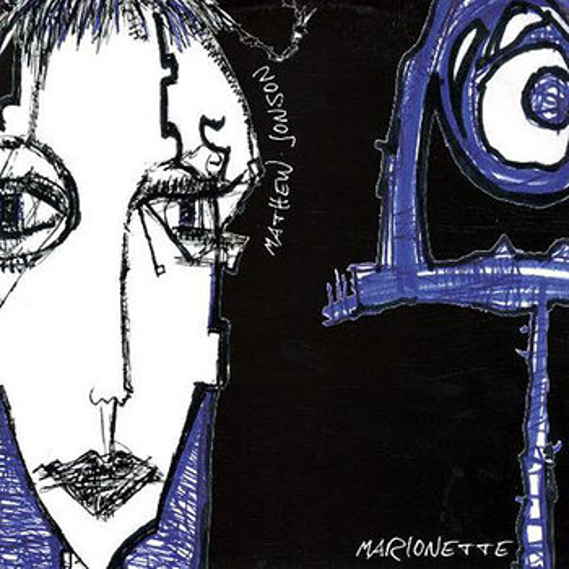 Cover art - Mathew Jonson: Marionette