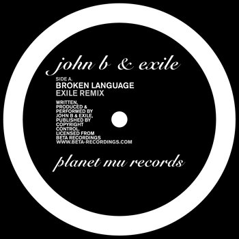 Cover art - John B & Exile: Broken Language Rmx