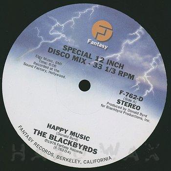 Cover art - Blackbyrds: Happy Music