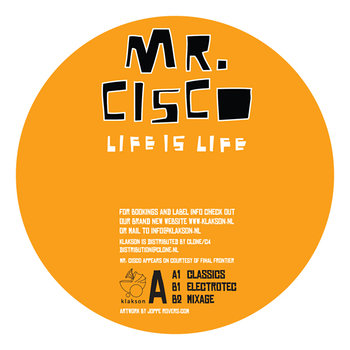 Cover art - Mr. Cisco: Life Is Life