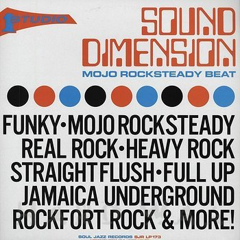Cover art - Sound Dimension: Mojo Rocksteady Beat