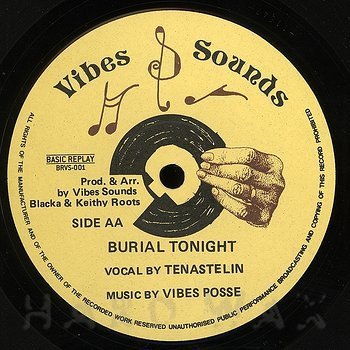 Cover art - Tenastelin: Burial Tonight