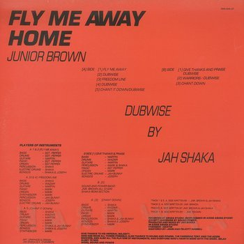 Cover art - Junior Brown: Fly Me Away Home