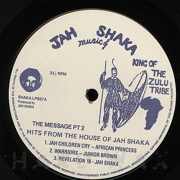 Cover art - Various Artists: Hits From The House Of Jah Shaka - The Message Pt.2