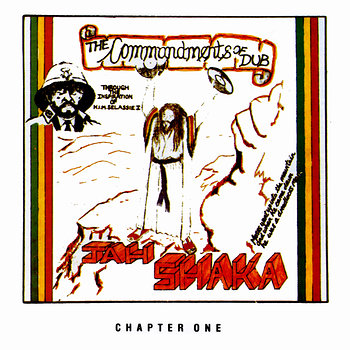 Cover art - Jah Shaka: Commandments Of Dub