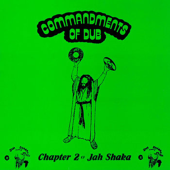 Cover art - Jah Shaka: Commandments Of Dub Chapter 2