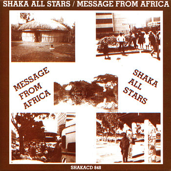 Cover art - Shaka All Stars: Message From Africa