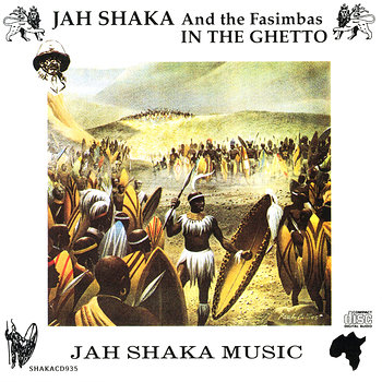 Cover art - Jah Shaka: In The Ghetto