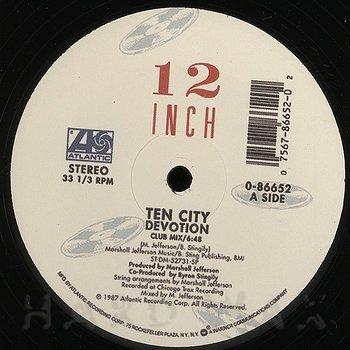 Cover art - Ten City: Devotion