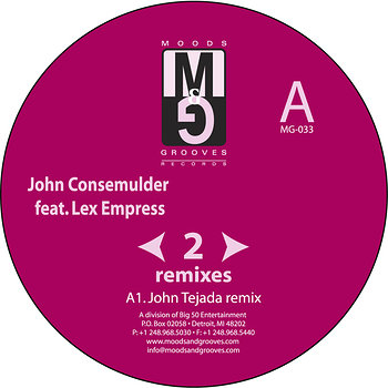 Cover art - John Consemulder feat. Lex Empress: Rewind To Start Remixes