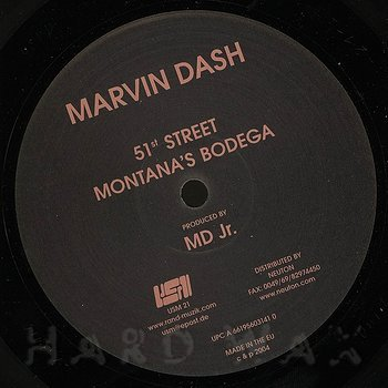 Cover art - Marvin Dash: 51st Street
