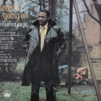Cover art - Marvin Gaye: What's Going On