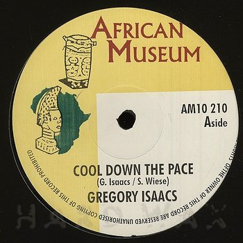 Cover art - Gregory Isaacs: Cool Down The Pace