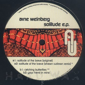 Cover art - Arne Weinberg: Solitude EP