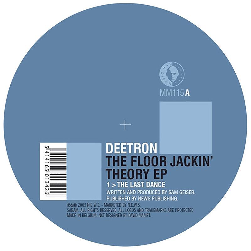 Cover art - Deetron: The Floor Jackin' Theory EP