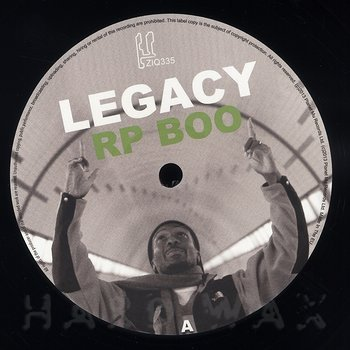 Cover art - RP Boo: Legacy