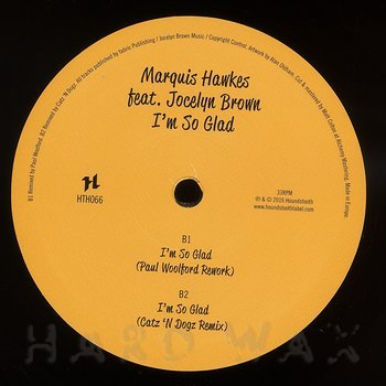 Cover art - Marquis Hawkes: I'm So Glad (feat. Jocelyn Brown)