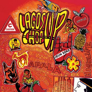 Cover art - Various Artists: Lagos Chop Up