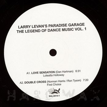 Cover art - Various Artists: Larry Levan's Paradise Garage - The Legend Of Dance Music Vol. 1
