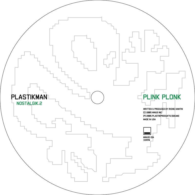 Cover art - Plastikman: Nostalgik.2