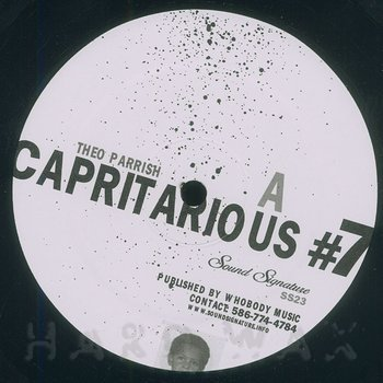 Cover art - Theo Parrish: Capritarious #7